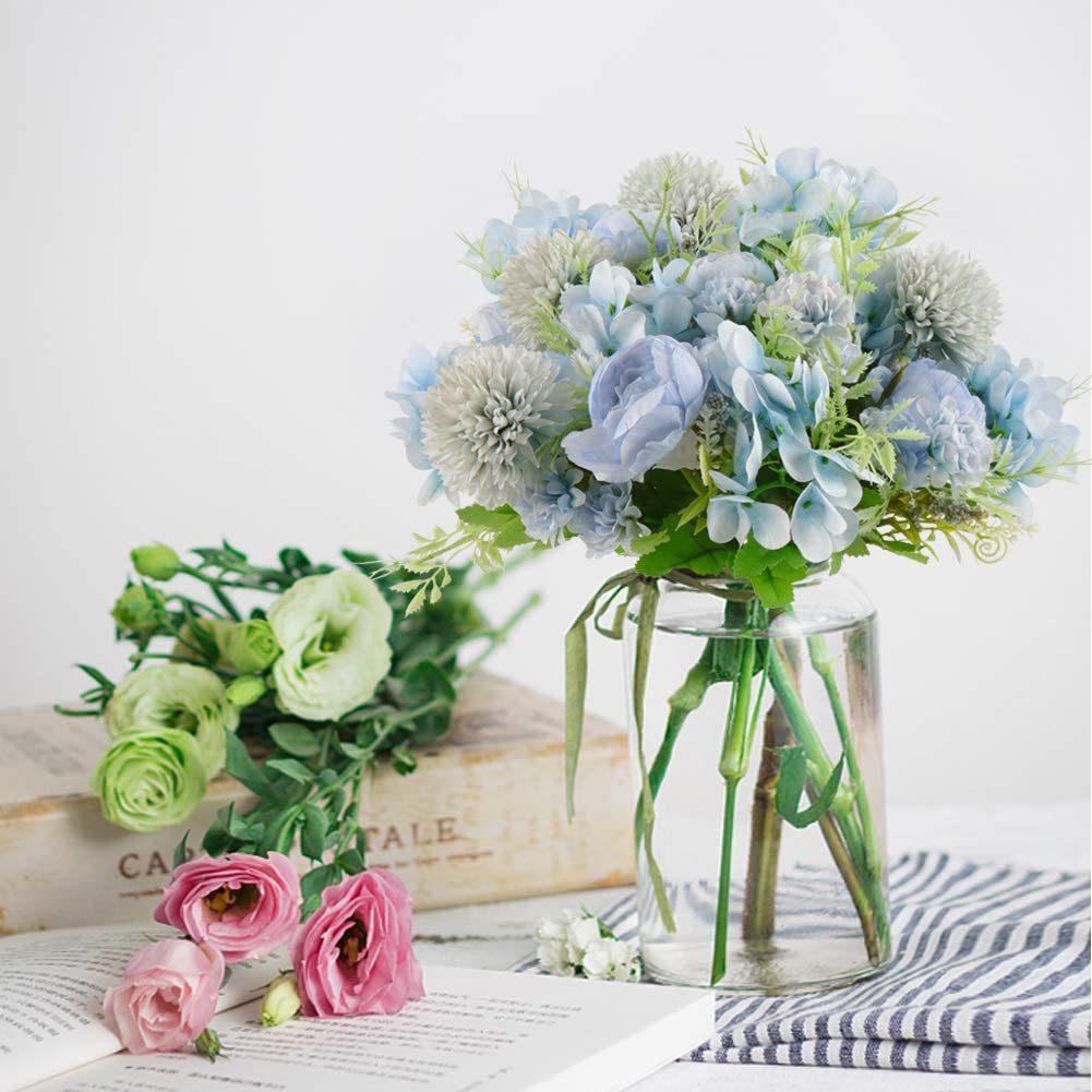 Fake peonies flowers