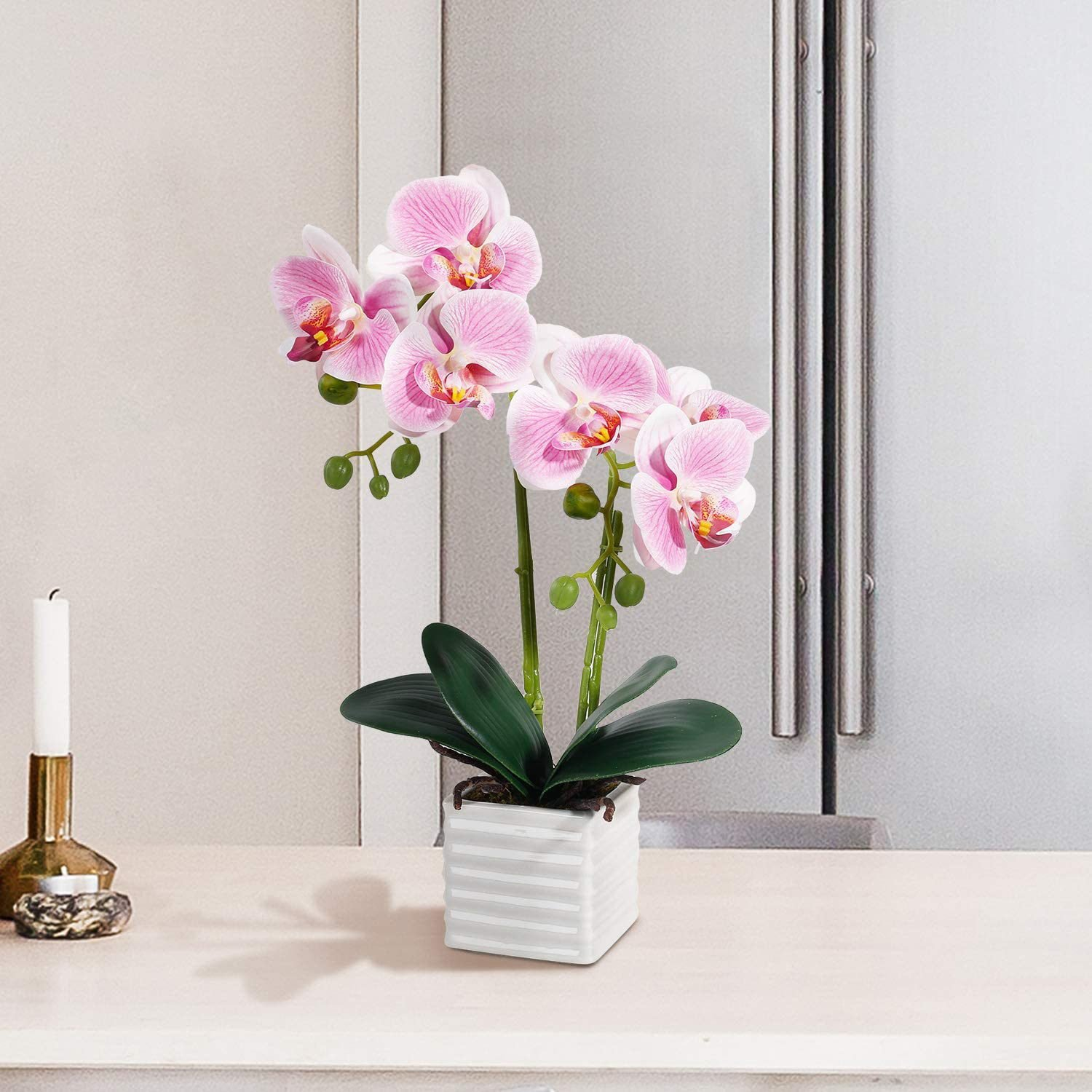 Fake orchid flower