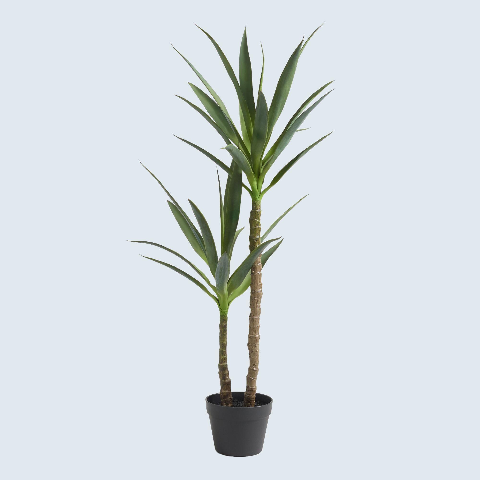 Fake yucca tree