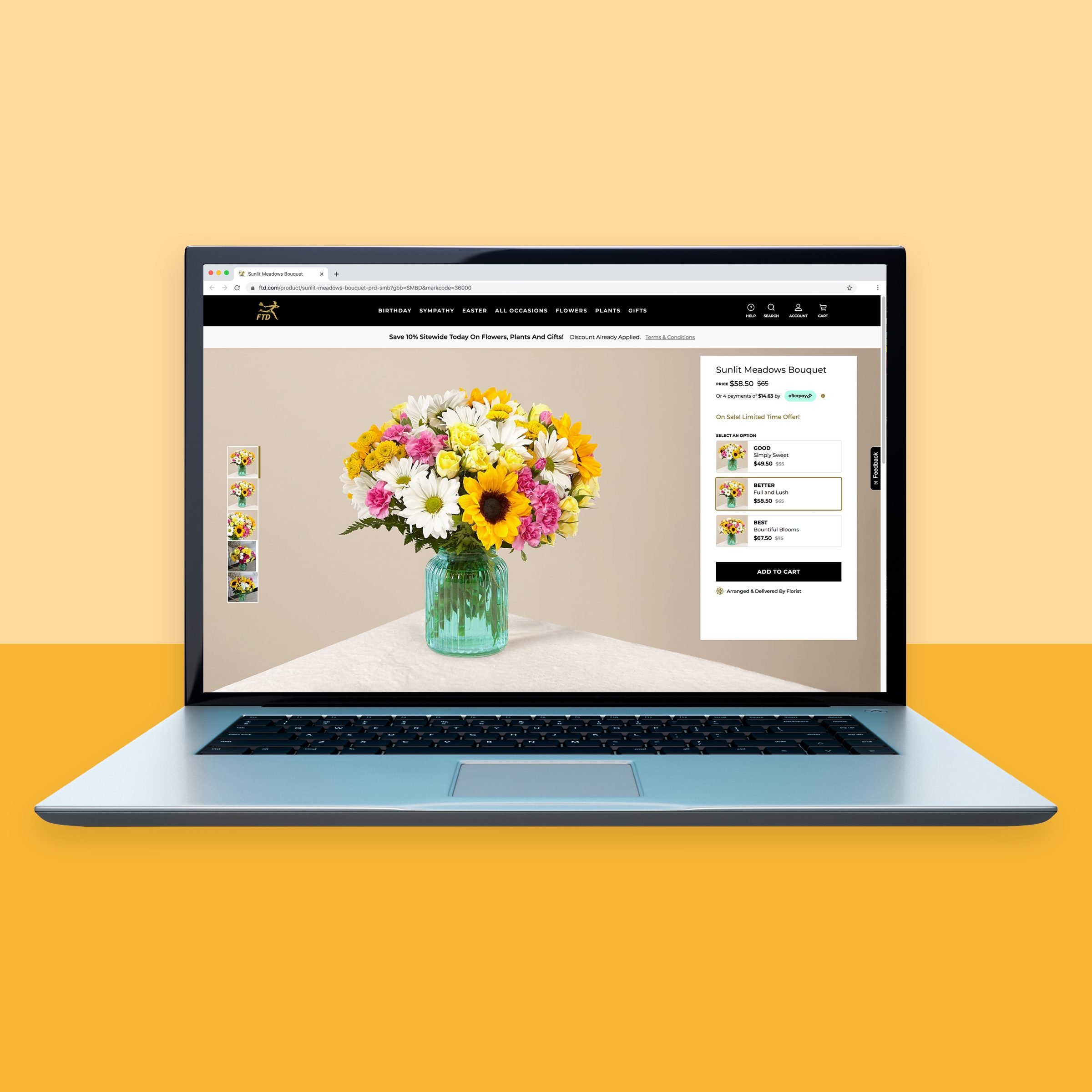 Ftd.com for online flowers