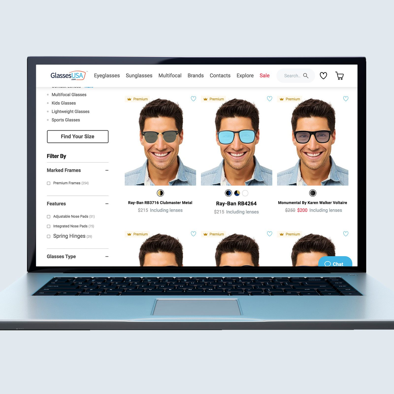 GlassesUSA Polarized Sunglasses