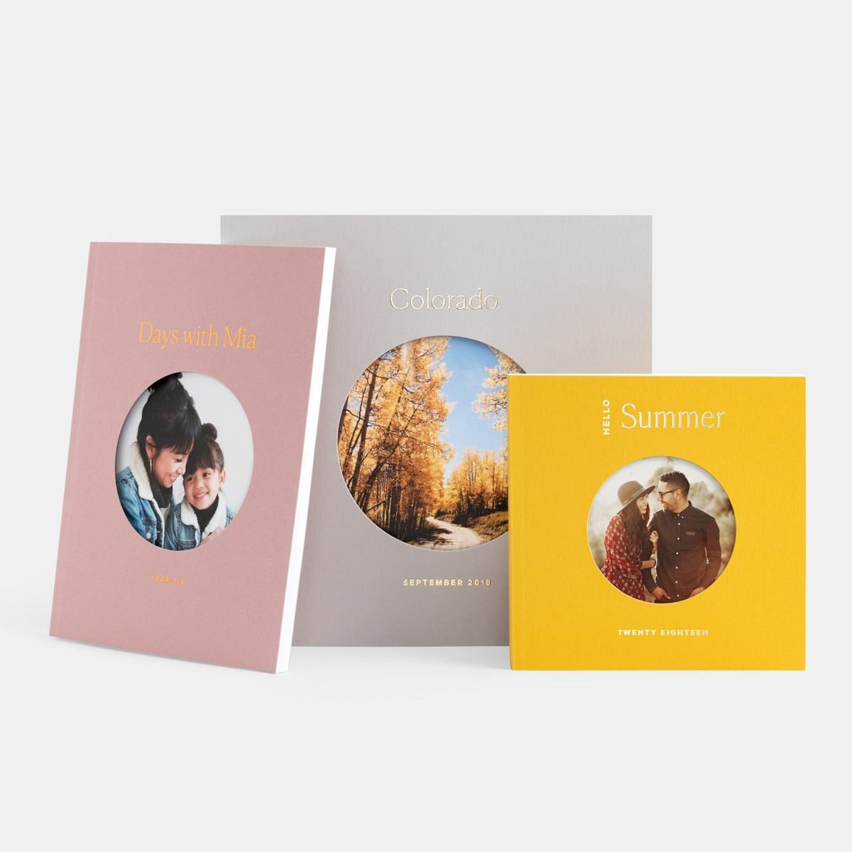 Color Series Photo Book from Artifact Uprising