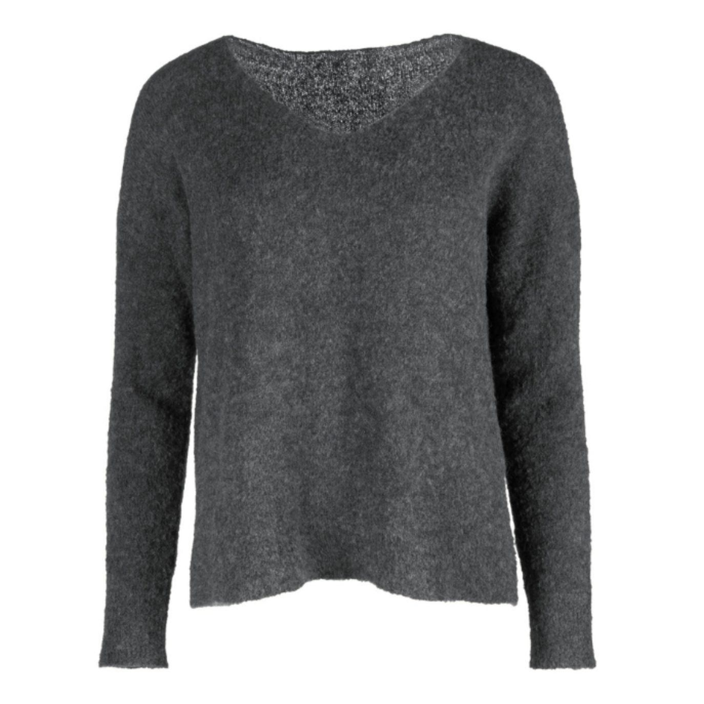 Featherweight Alpaca V-Neck Pullover from Peruvian Connection
