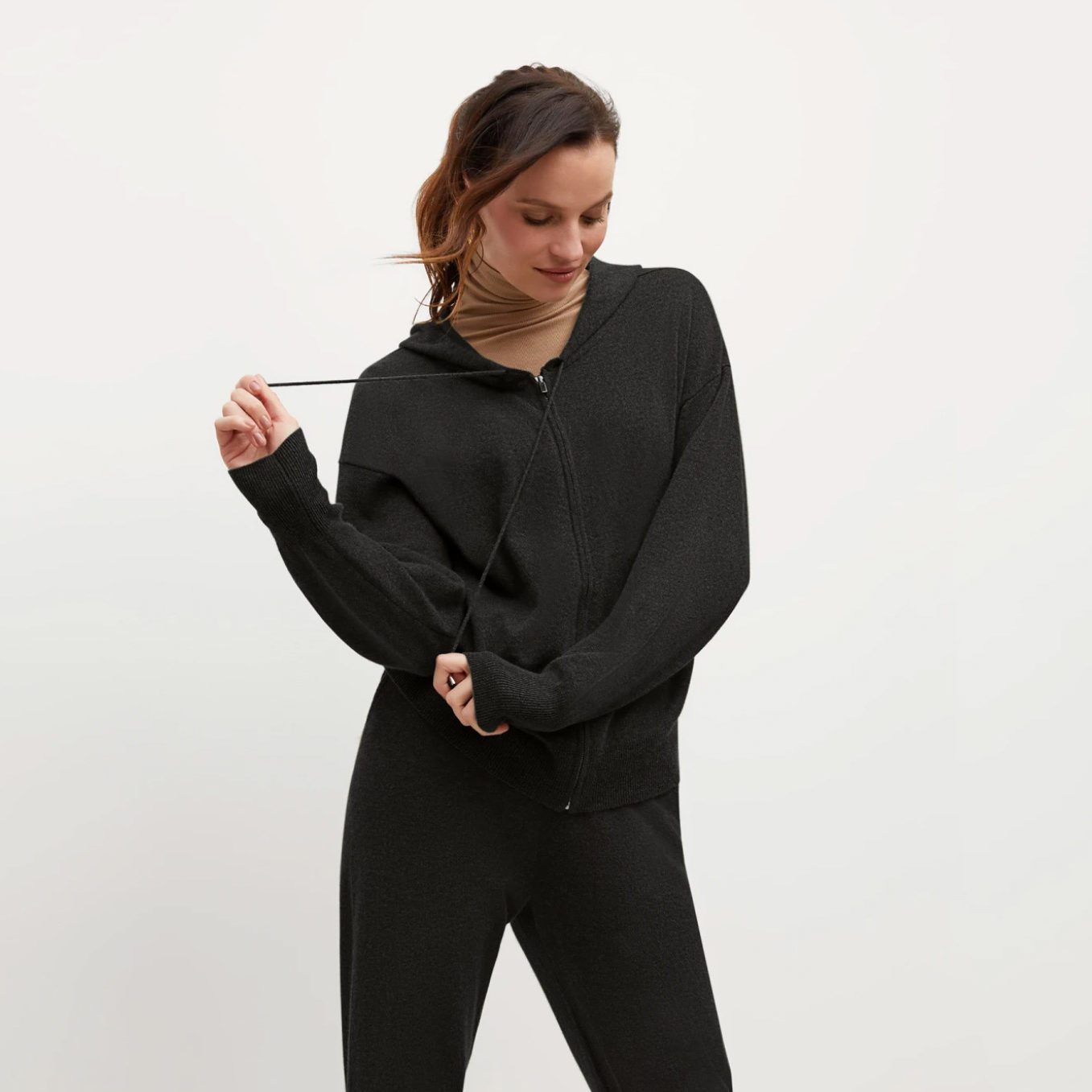 The Judith Hoodie – Cashmere from M.M. LaFleur