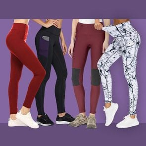 Image of four leggings from this piece