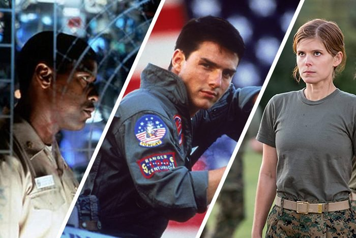 collage of Memorial Day movies