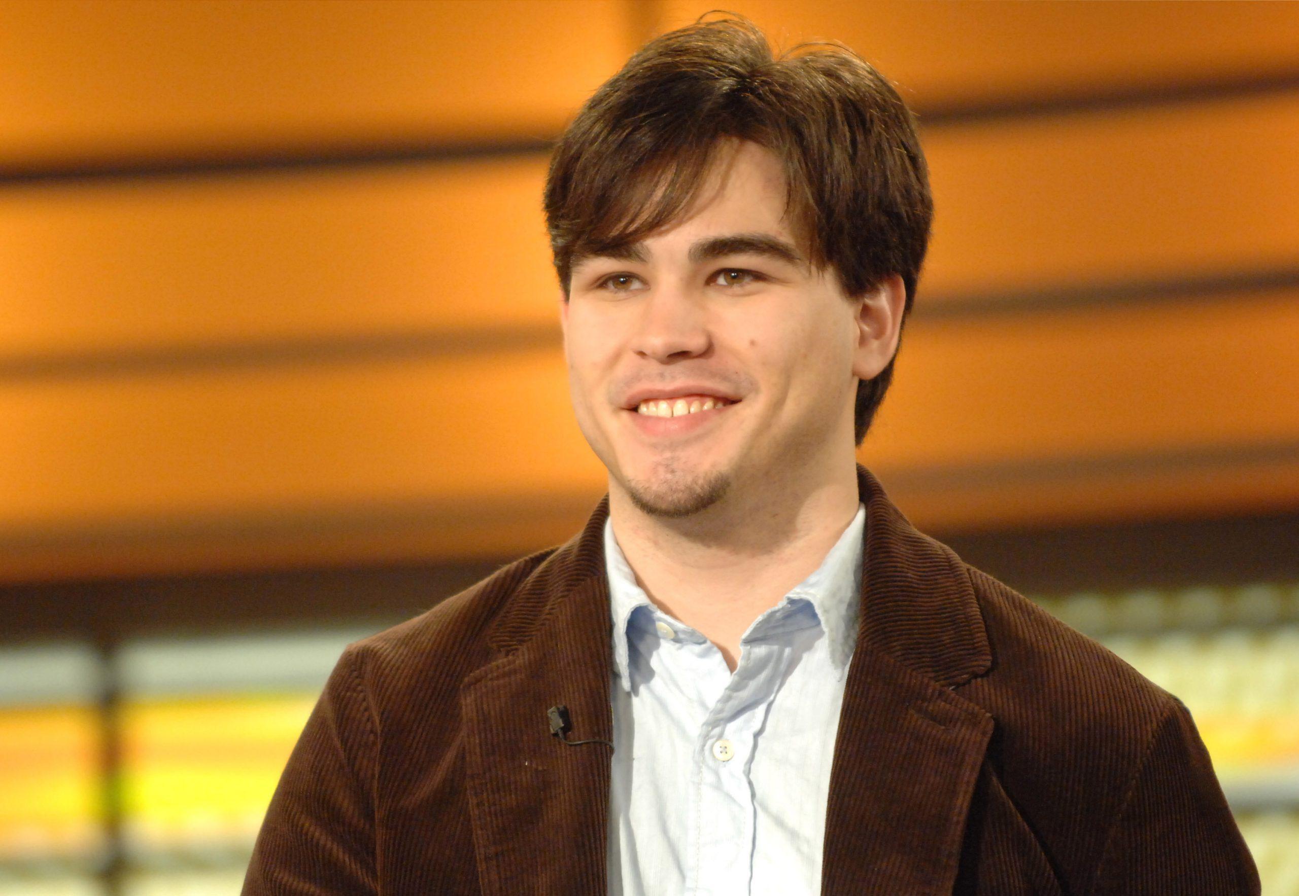 "Michael Kearney on the set of Million Dollar ""Gold Rush"""