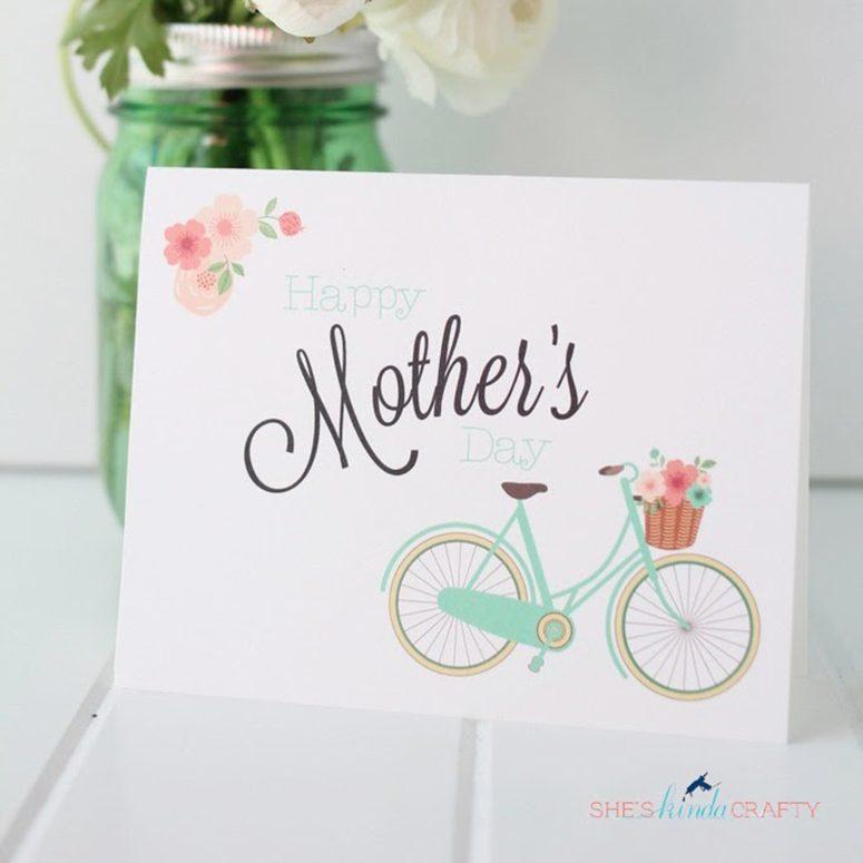 Mothersdaybikecard