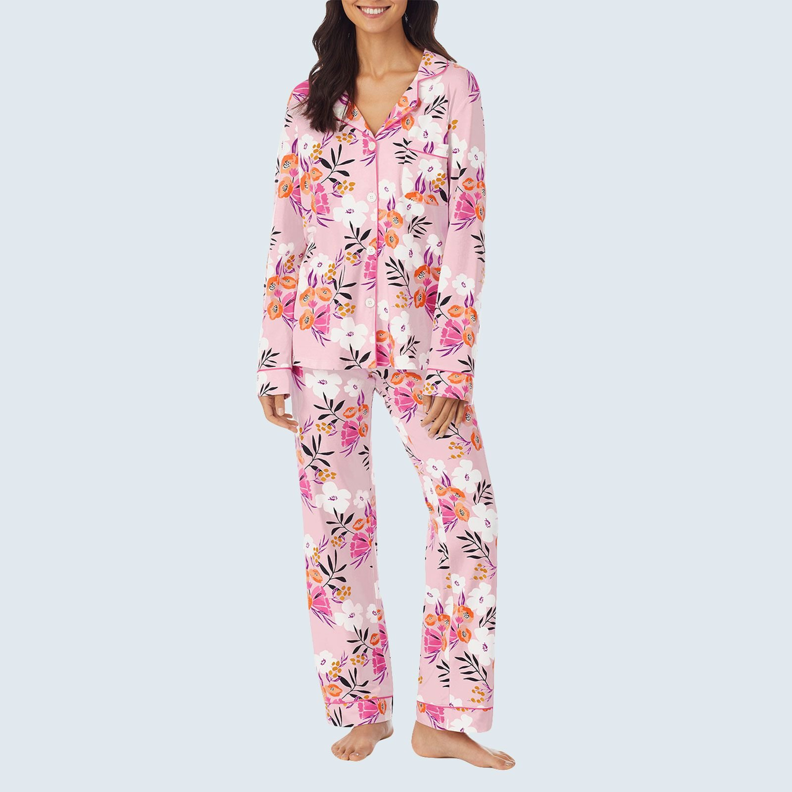 Charlotte Blooms Long-Sleeve Pajama Set from Bedhead Pajamas