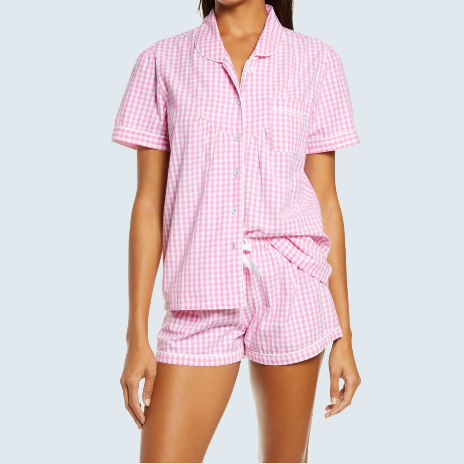 Short Sleeve Boxer Pajamas from Sant and Abel