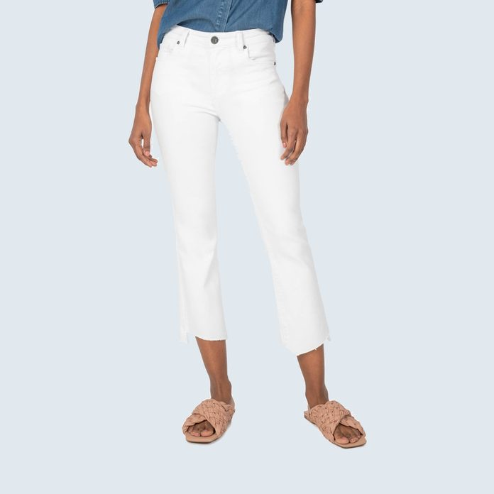 Kut from the Kloth Kelsey High Rise Ankle Flare Jeans