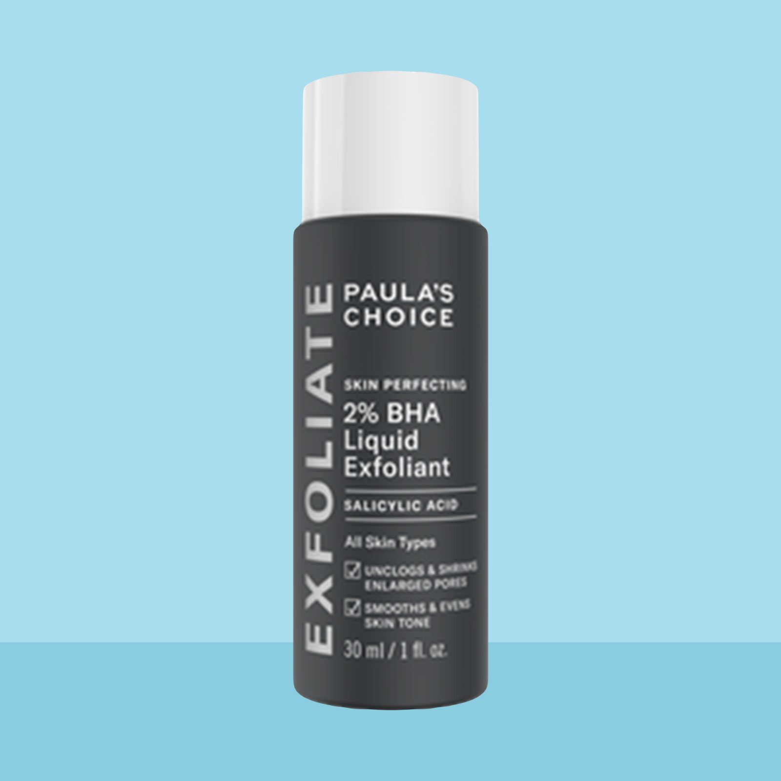 Best Face Serum for clearing acne: Paula's Choice Skin Perfecting 2% BHA Liquid Exfoliant