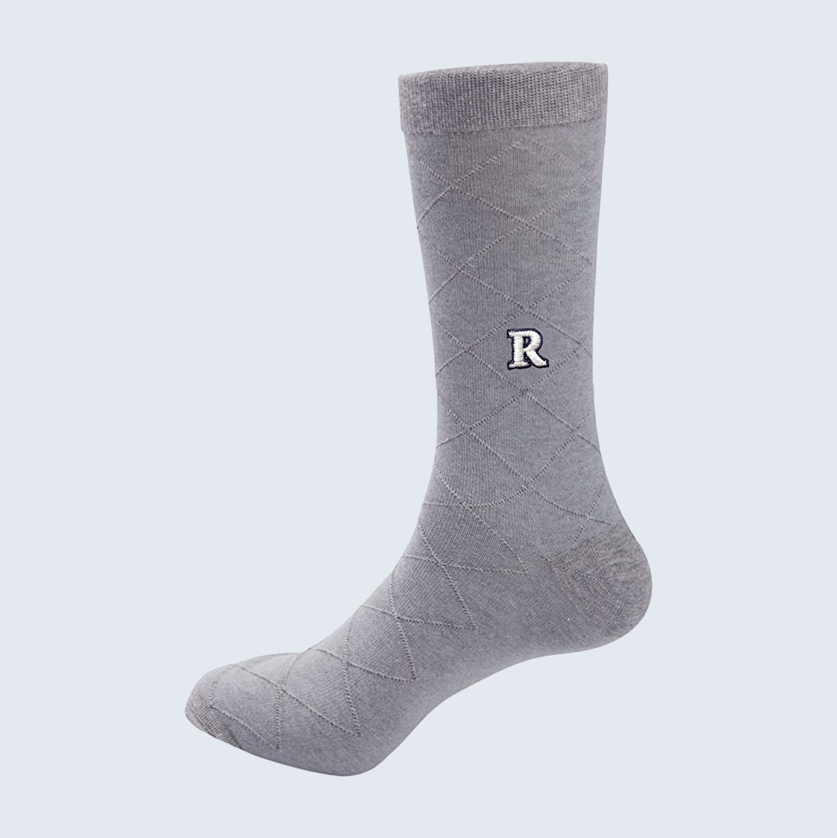 Custom initial socks for Father's Day