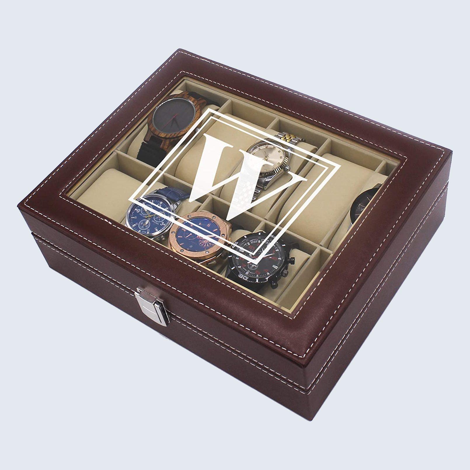 Customized watch storage box
