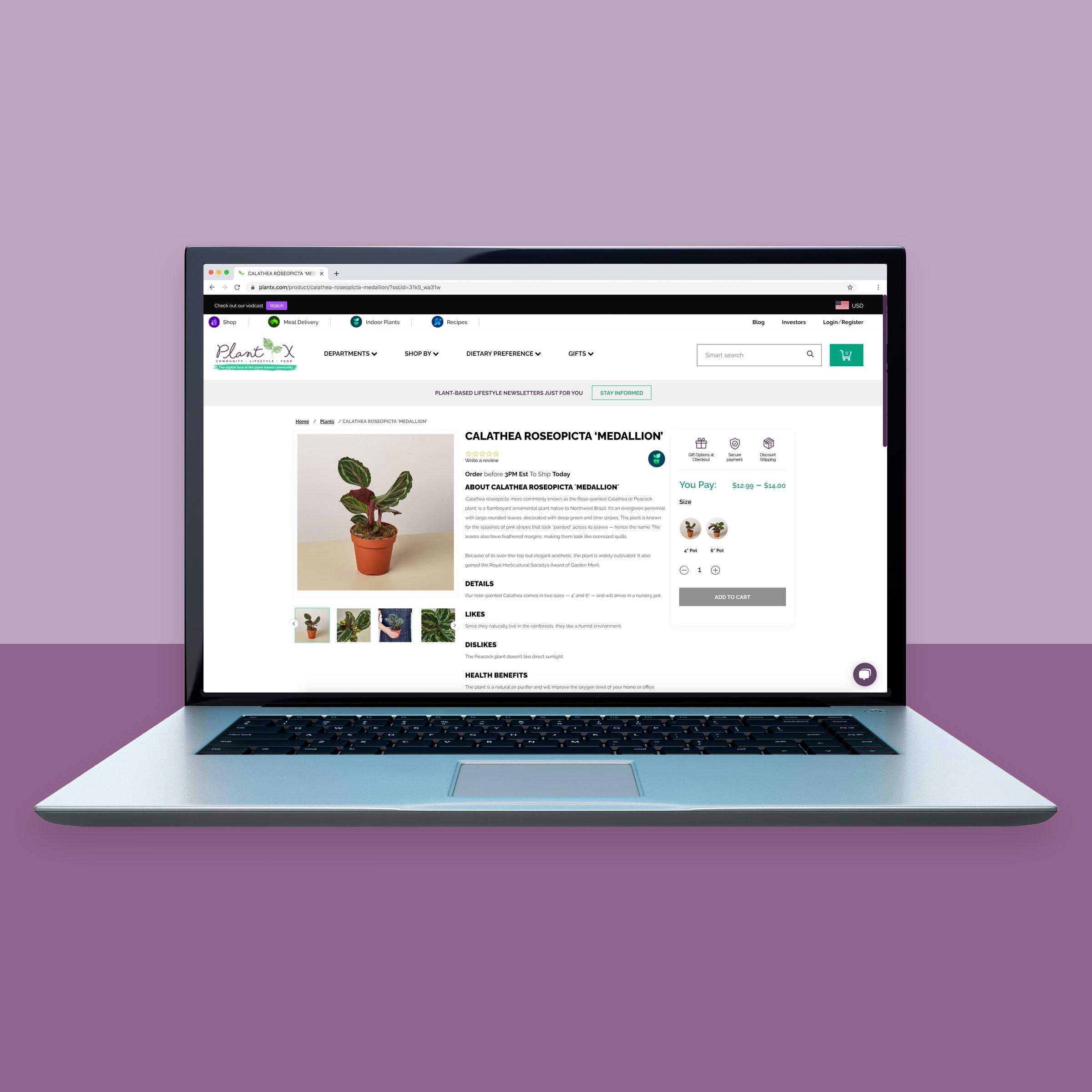 Plantx.com online plant shopping