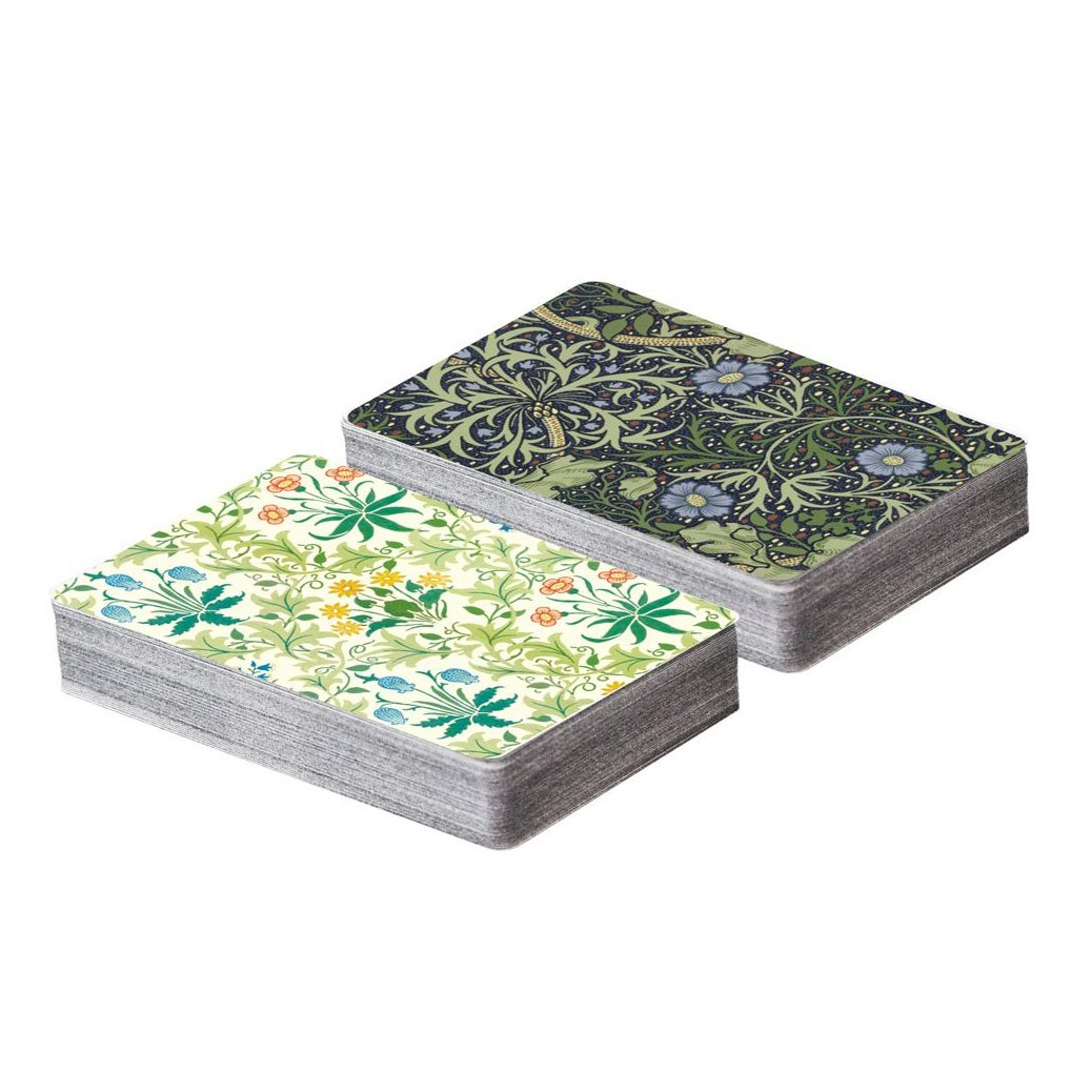 William Morris Playing Card Set from Galison