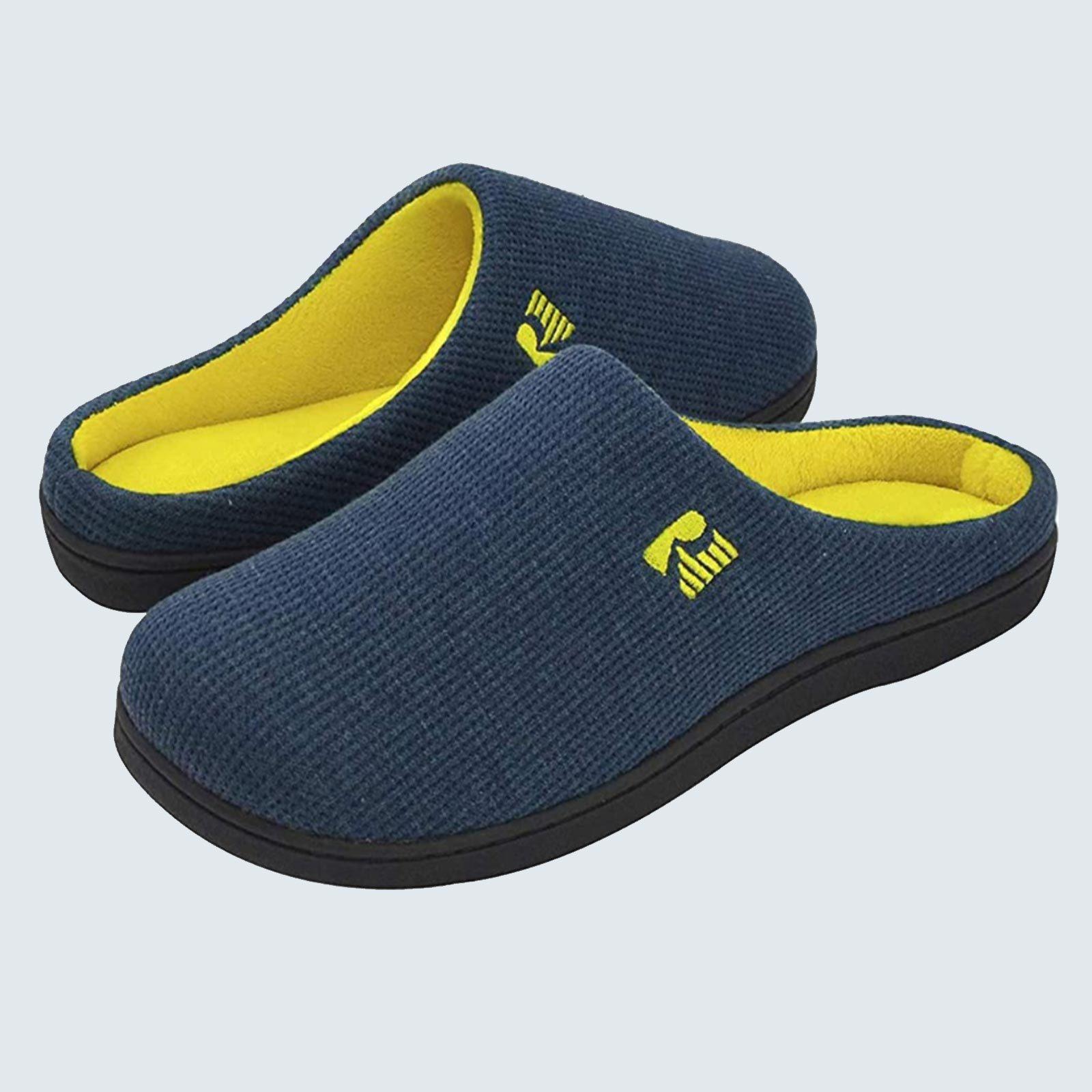 Best slippers for sweaty feet: RockDove Two-Toned Memory Foam Slipper