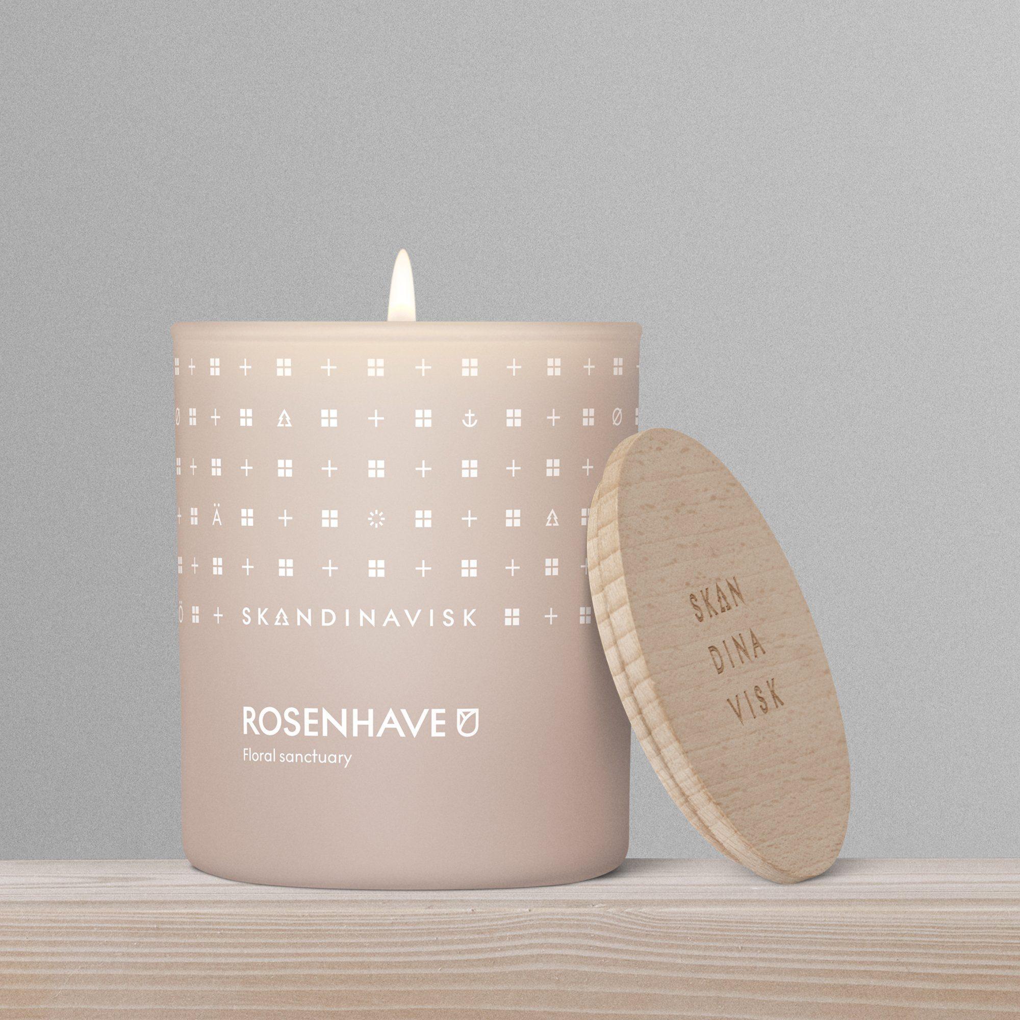 Rosenhave candle