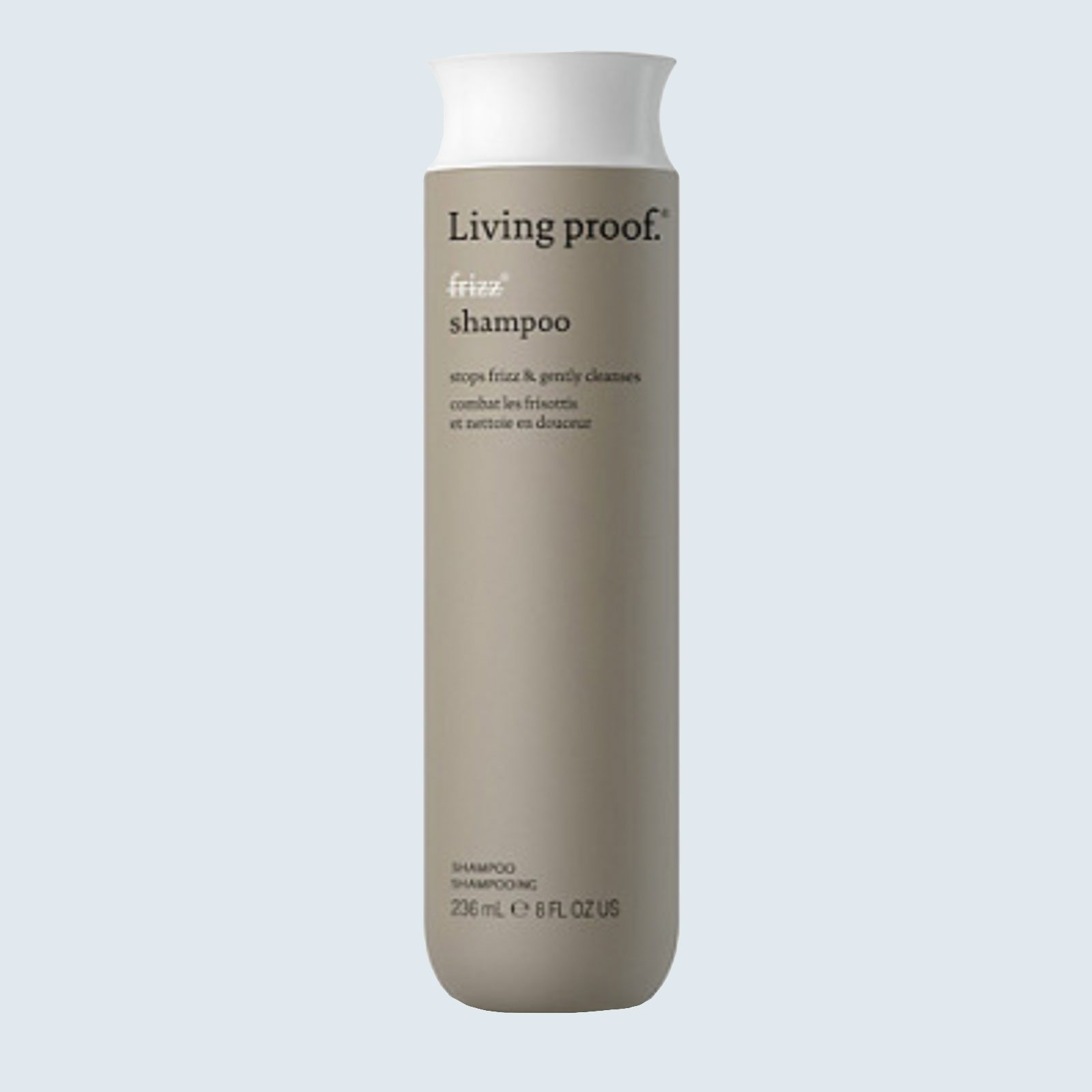 Best overall shampoo for curly hair: Living Proof Anti-Frizz Shampoo