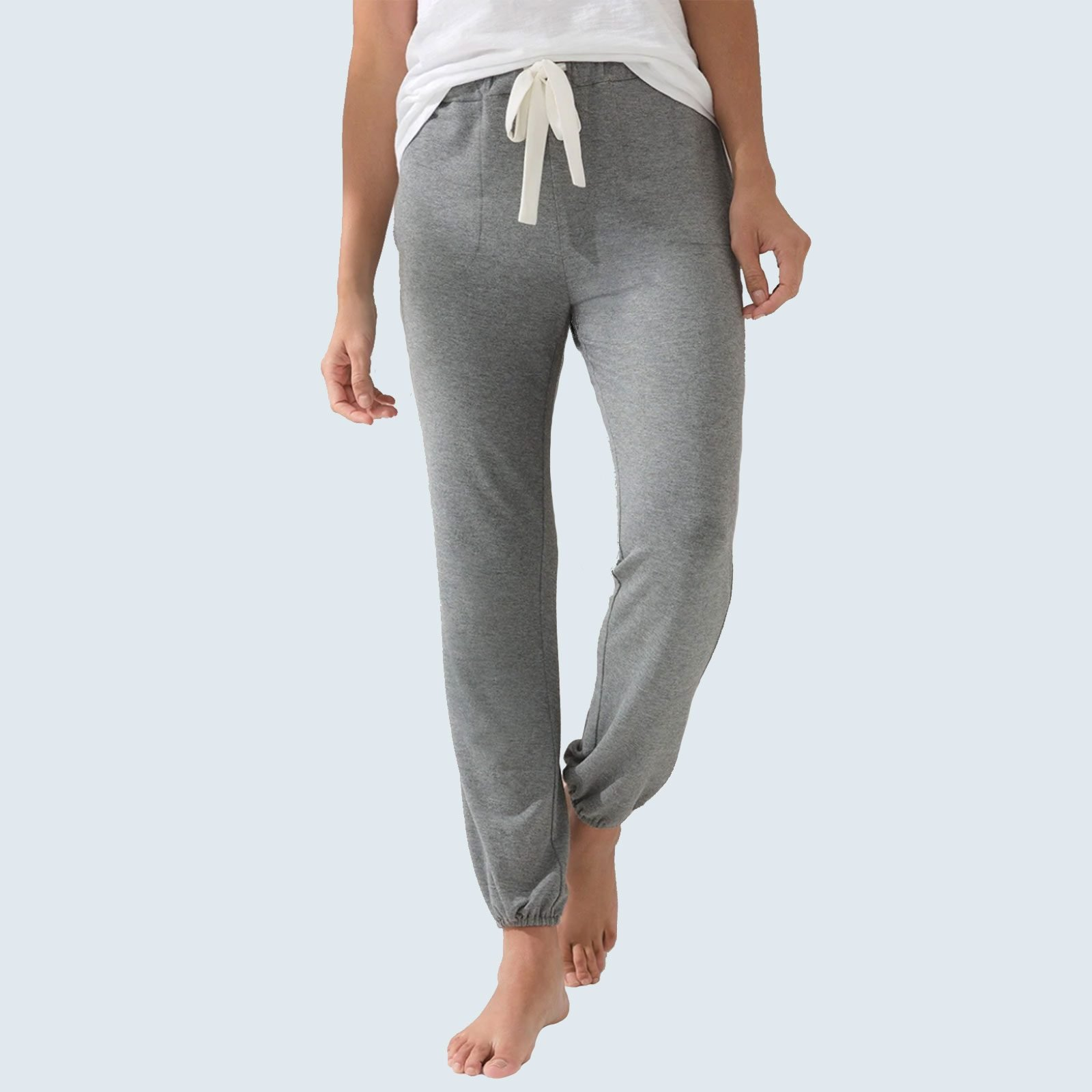 Best loungewear set for working from home: SomaWKND Sunday Pants and Wrap