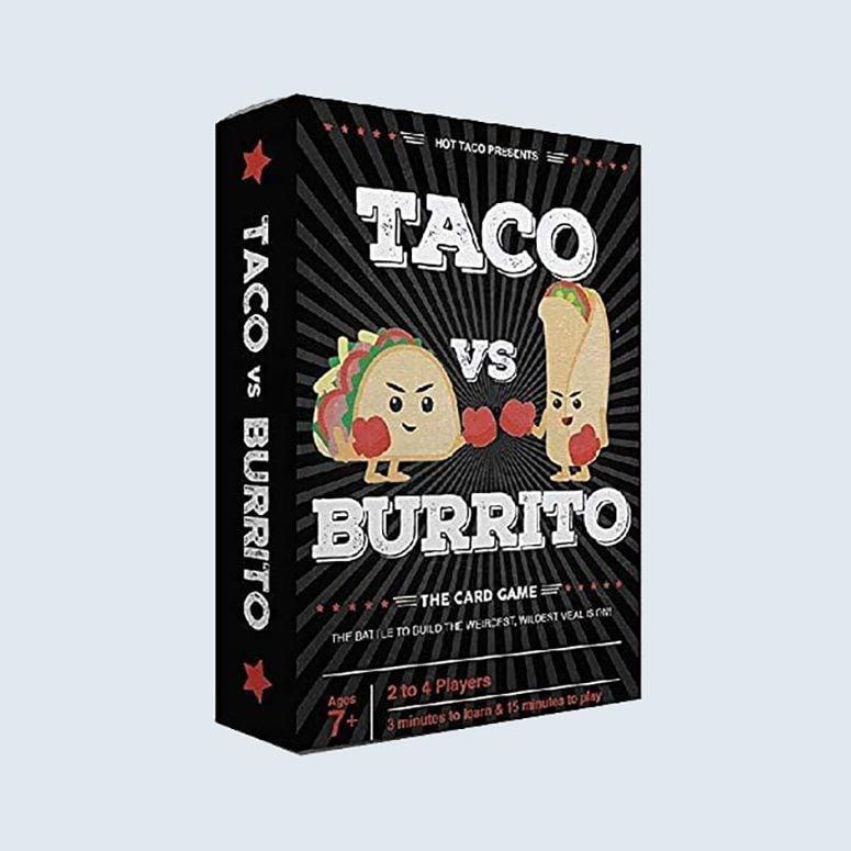 Taco vs burrito board game