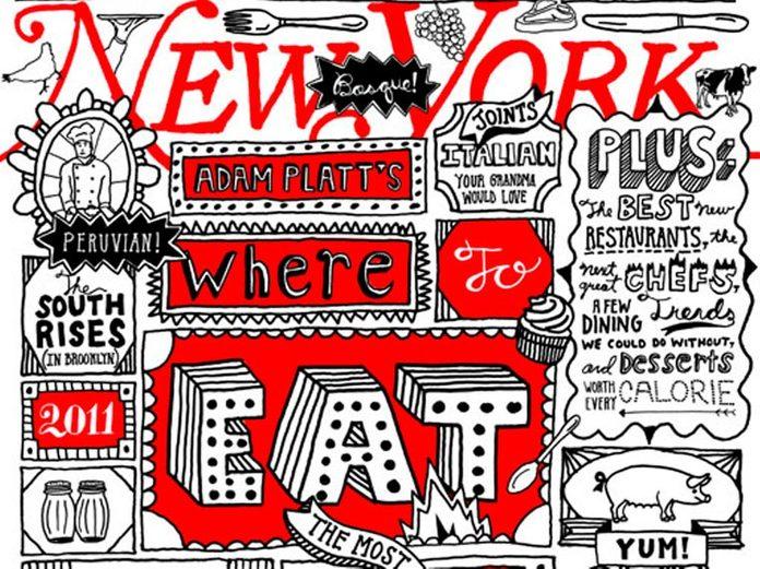 Detail from New York cover, November 2010