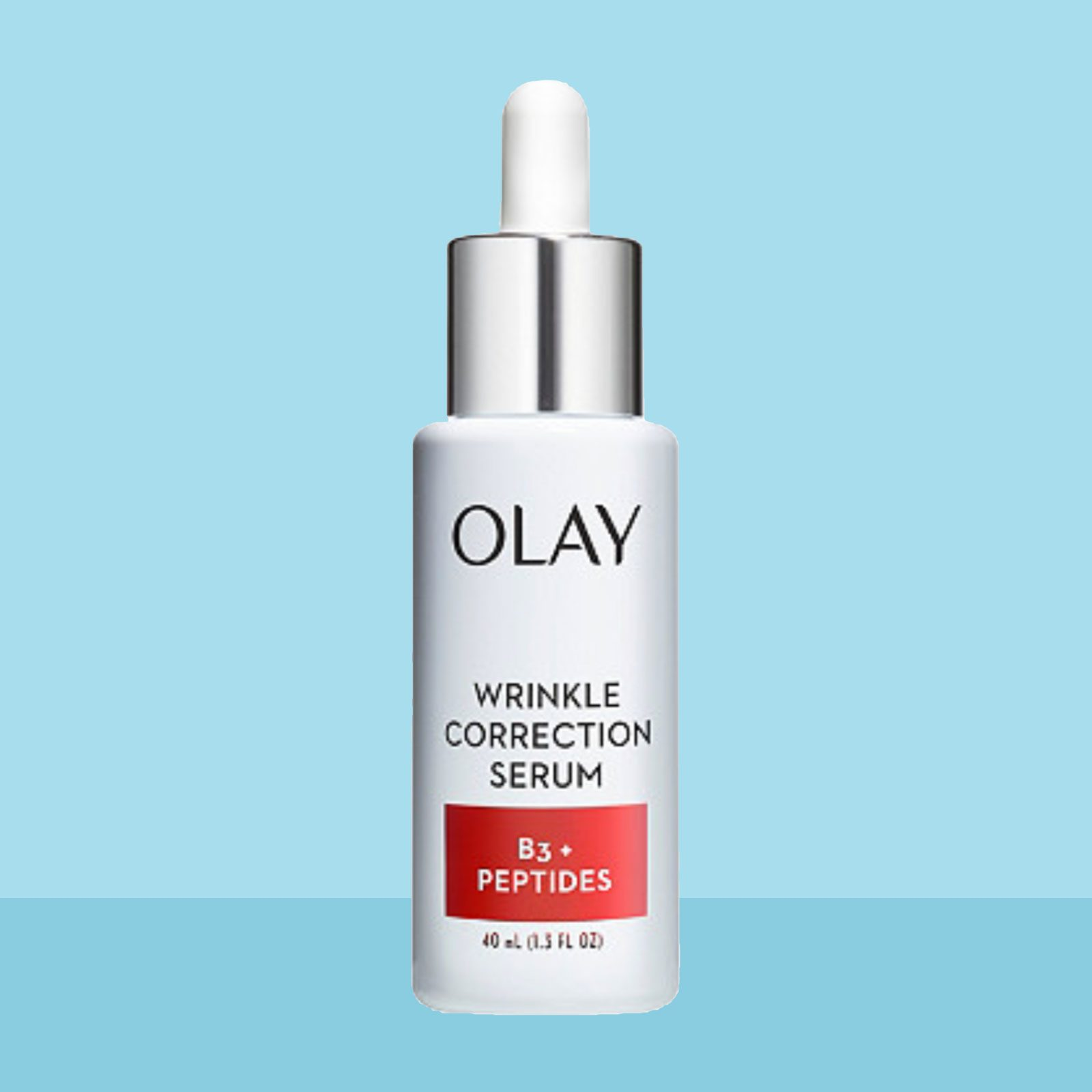 Best Face Serum with Niacinamide: Olay Wrinkle Correction Serum with Vitamin B3+ Collagen Peptides