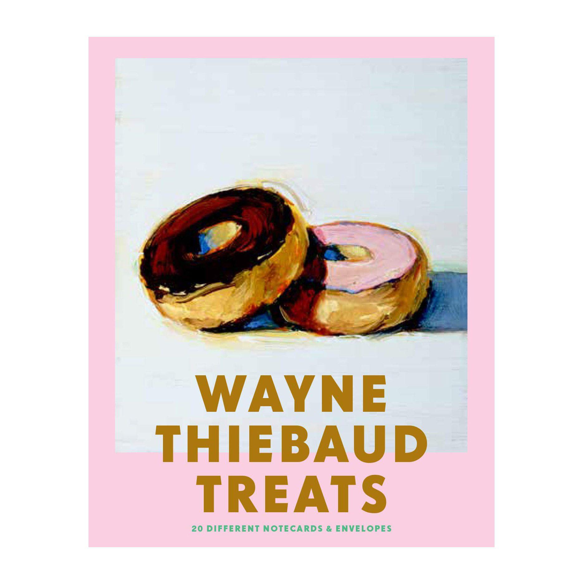 Wayne Thiebaud Treats Notecards for grandma