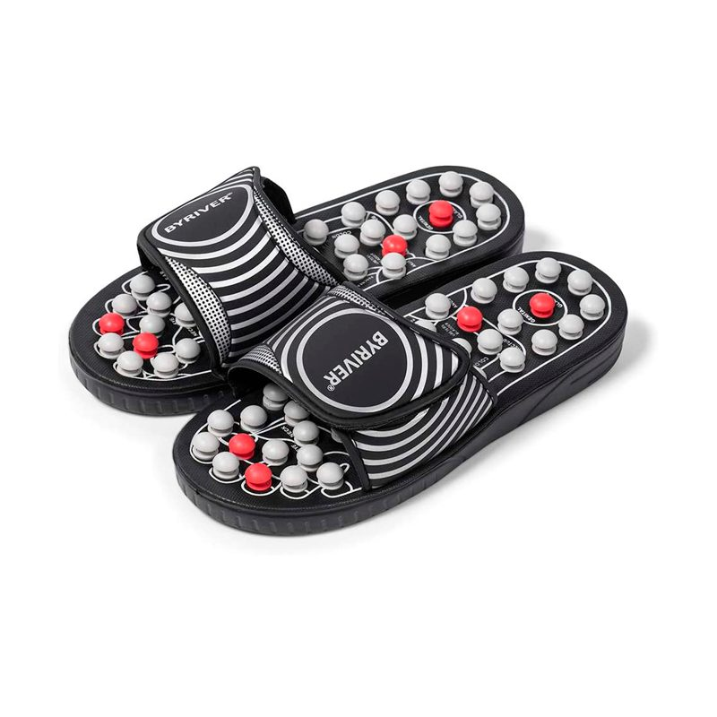 By River Acupressure Foot Massage Slippers