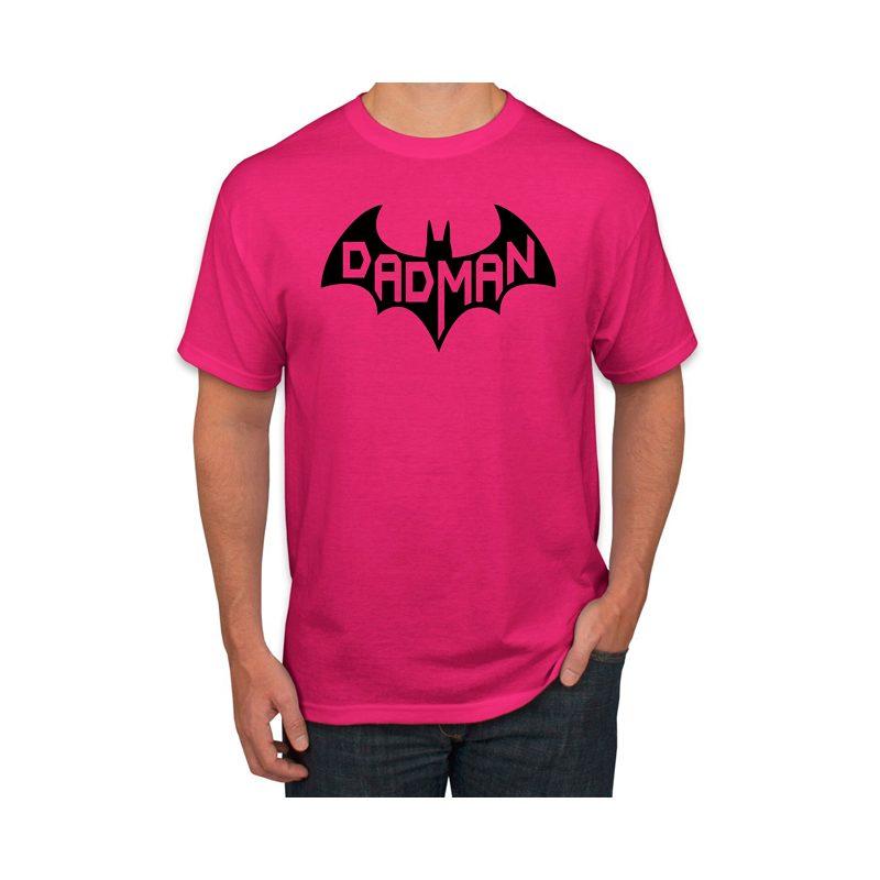 Dad Man Comic Logo T Shirt