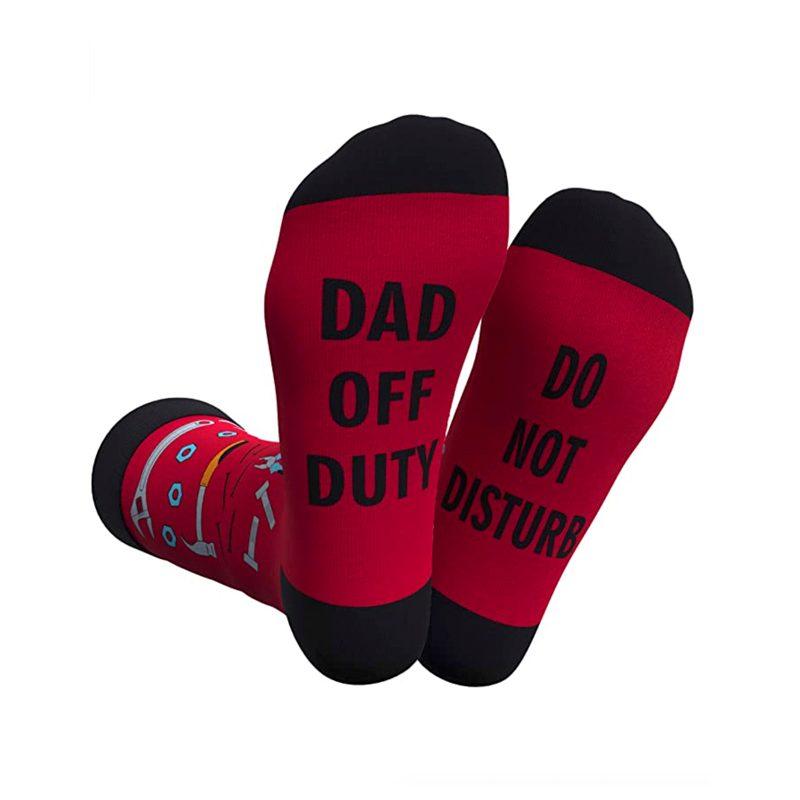Dad Off Duty Socks