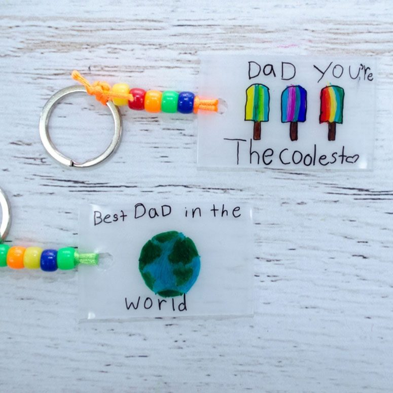 Fathers Day Keychains