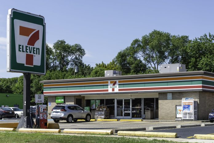A 7-Eleven location in Madison Heights, Michigan.