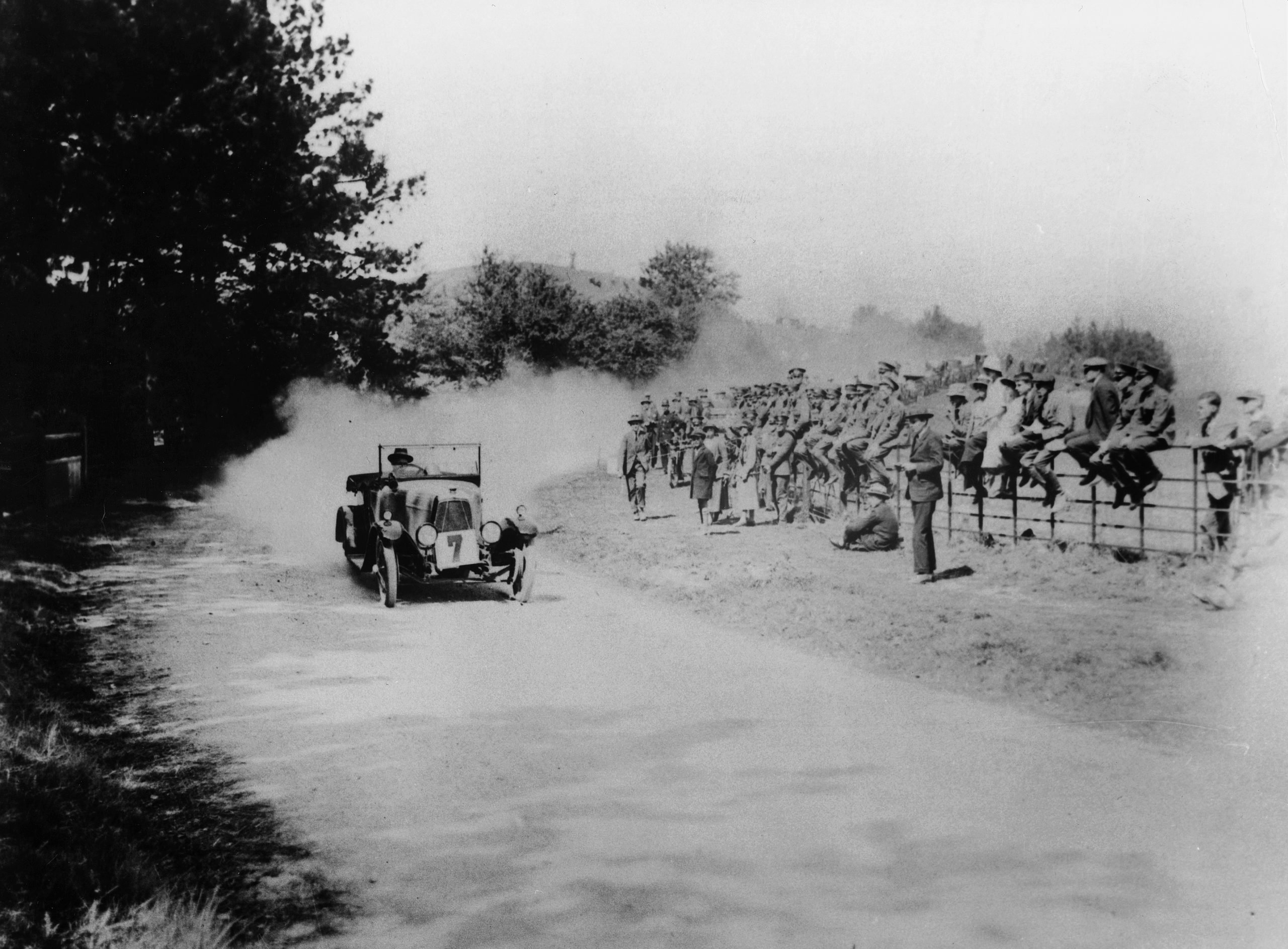 1921 Aston Martin SV at Aston Clinton Hill Climb