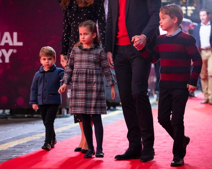 The Duke and Duchess Of Cambridge And Their Family Attend Special Pantomime Performance To Thank Key Workers; December 11, 2020
