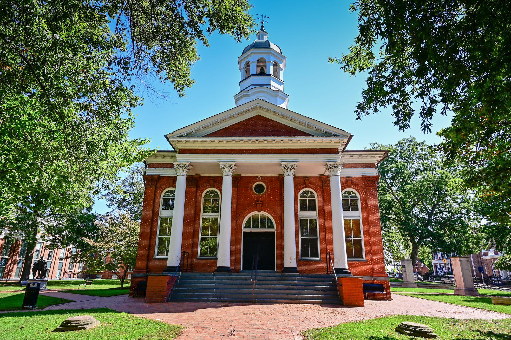 Historic Loudoun County Courthouse Leesburg VA