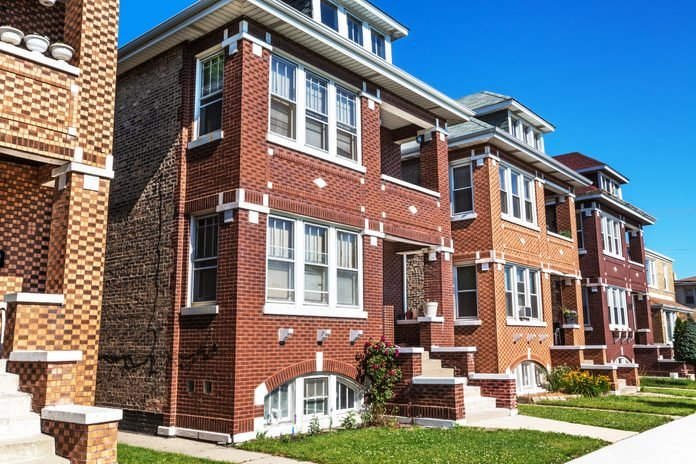 Two flats in Archer Heights, Chicago