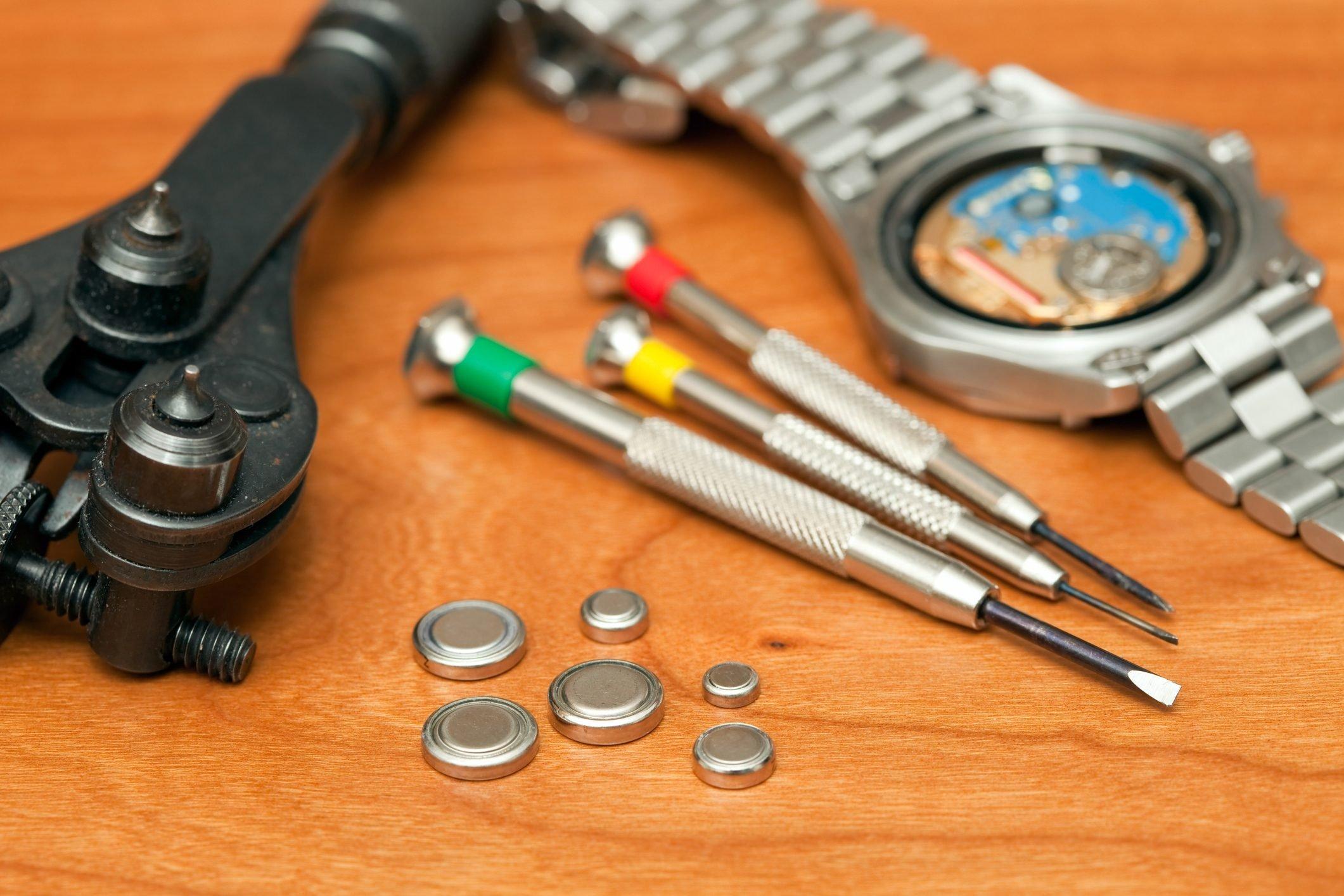 Watch Repair, Battery Replacement