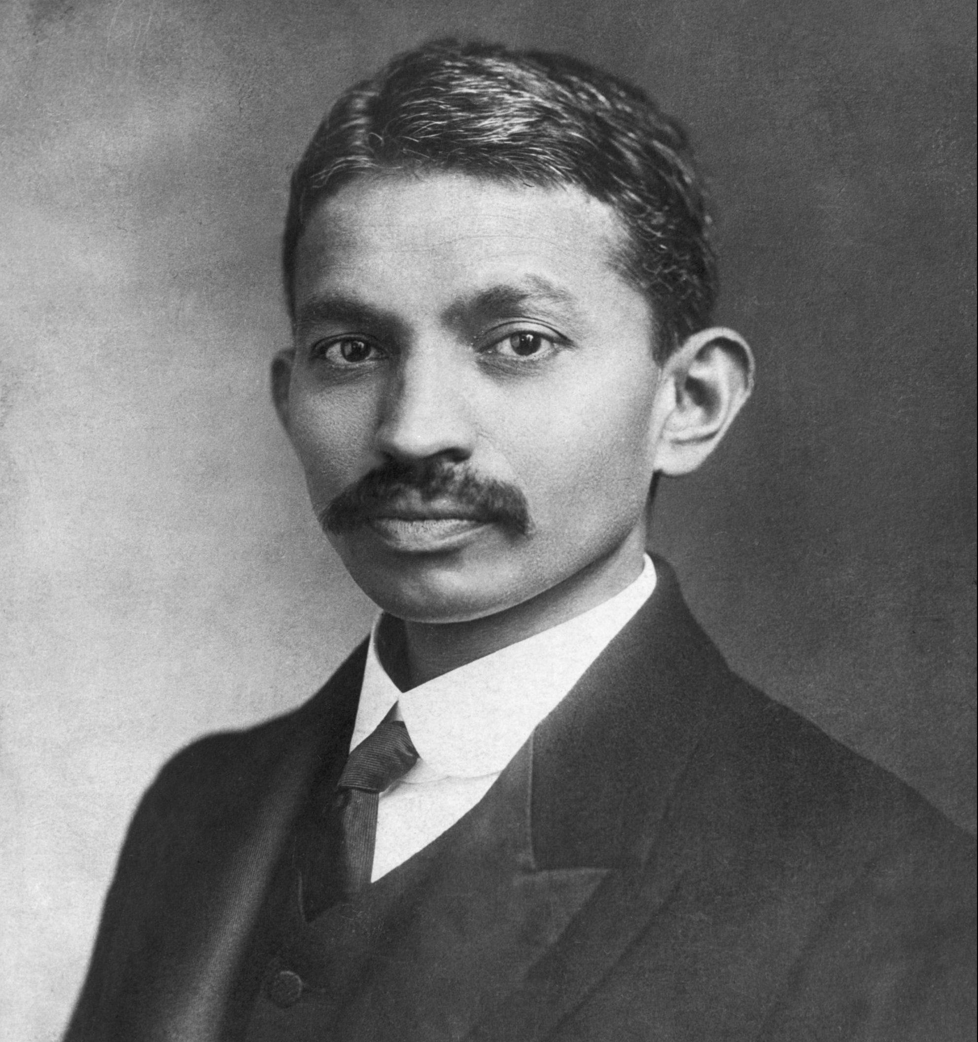 Early Photo Of Mahama Gandhi