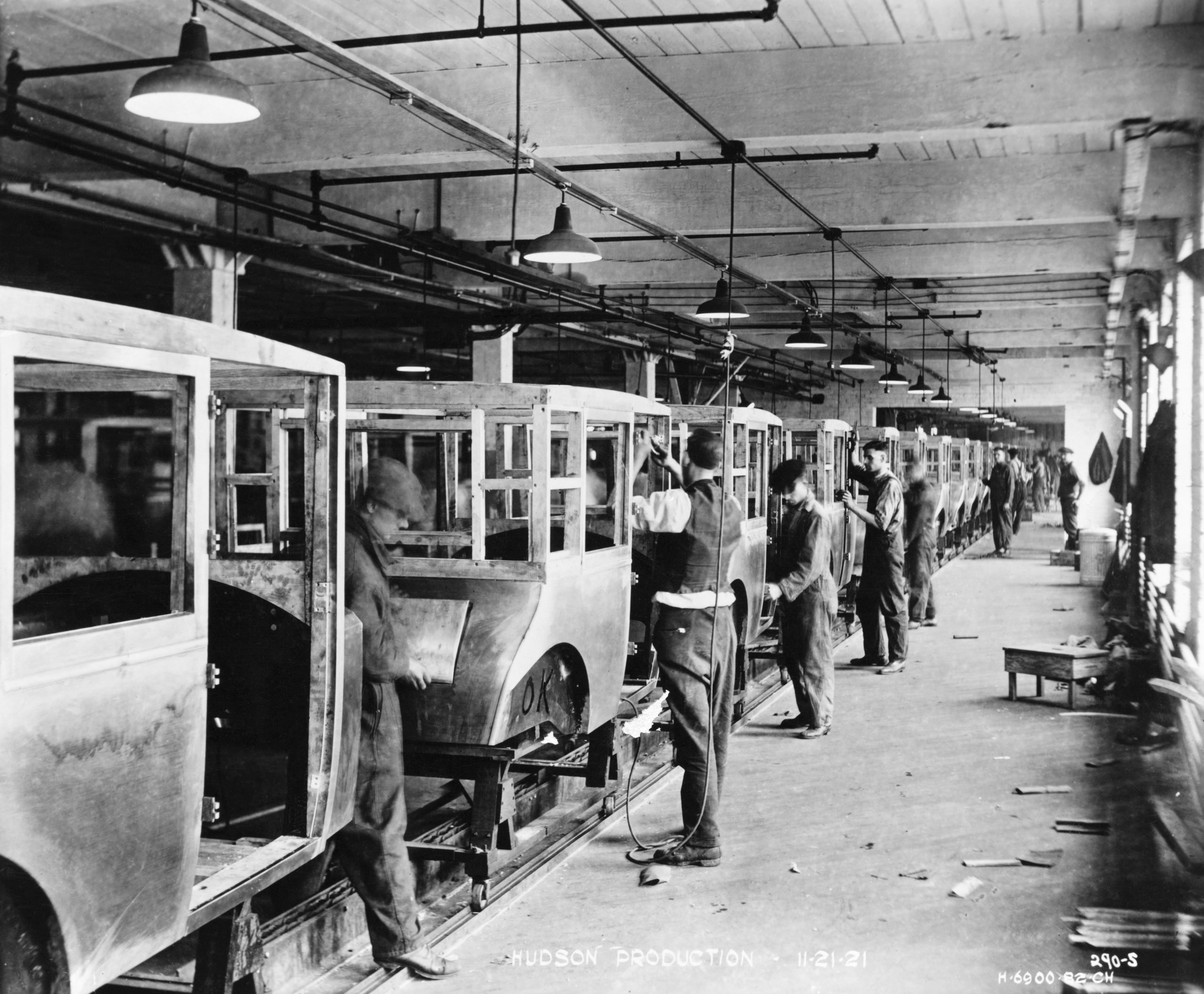 View of Hudson Factory Production Line