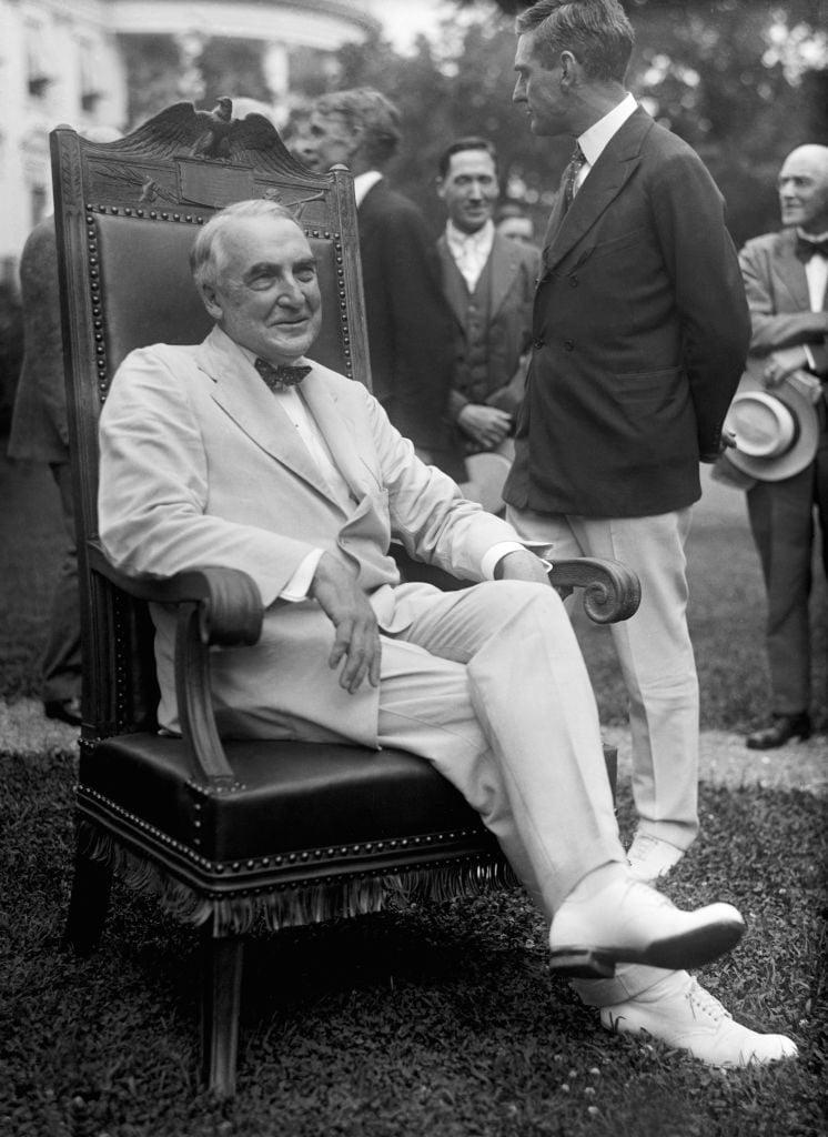 Portrait photo of U.S. President Warren Harding