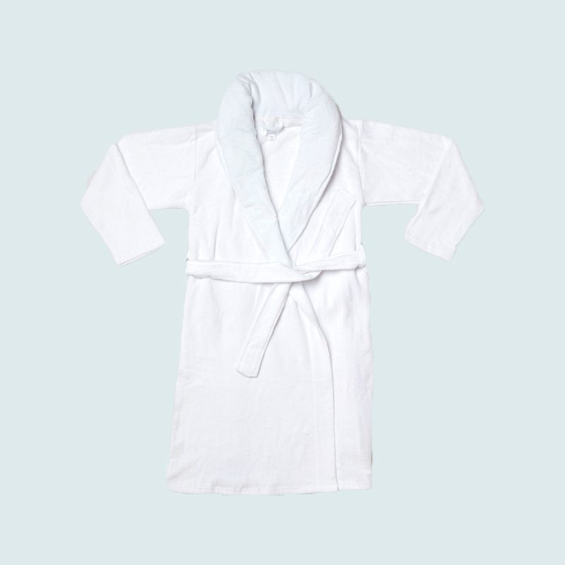 Gravity X Modernist Terry Cloth Weighted Robe