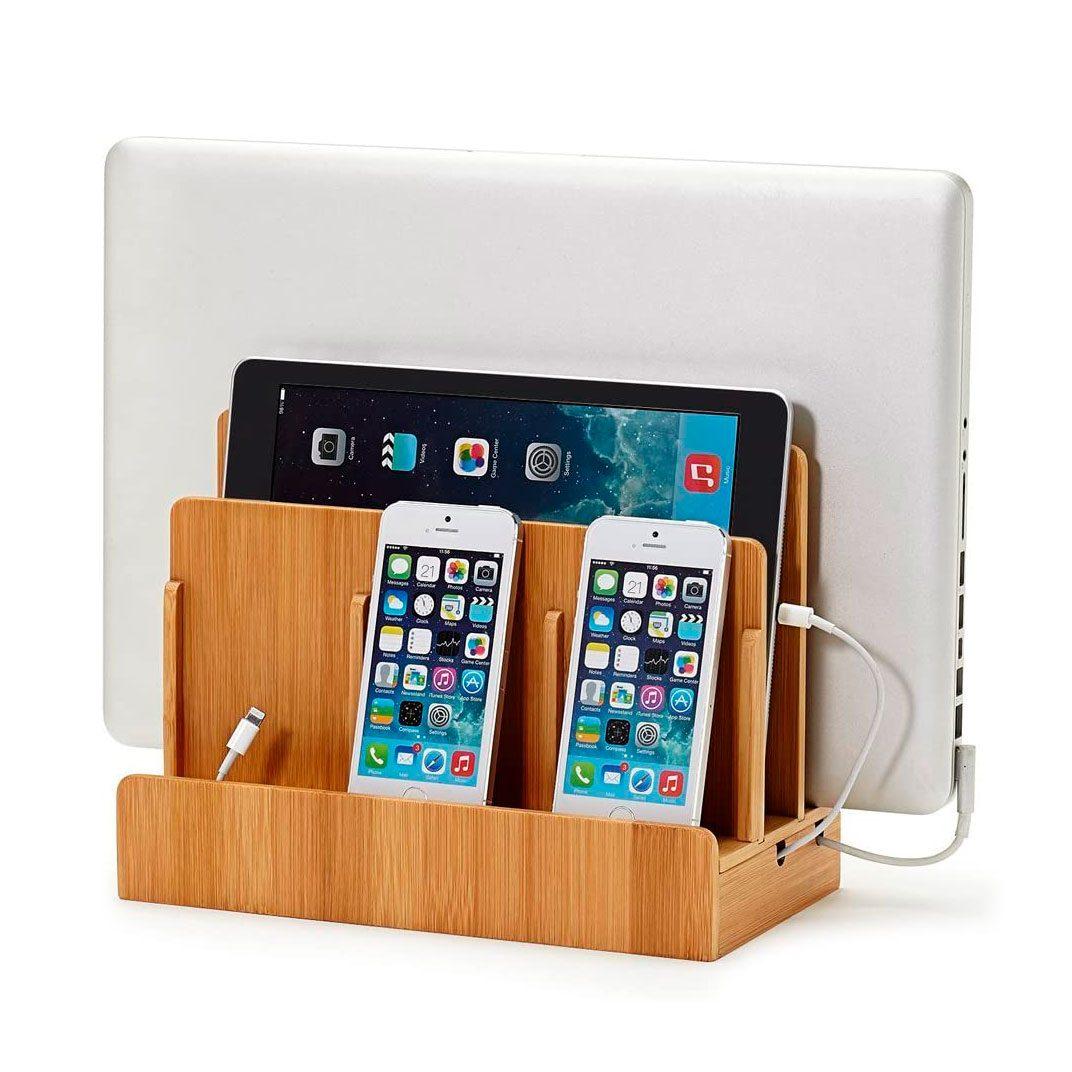 Great Useful Stuff G.U.S. Multi Device Charging Station Dock And Organizer