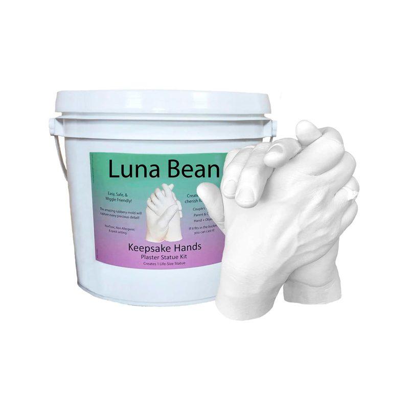 Luna Bean Keepsake Hands Casting Kit