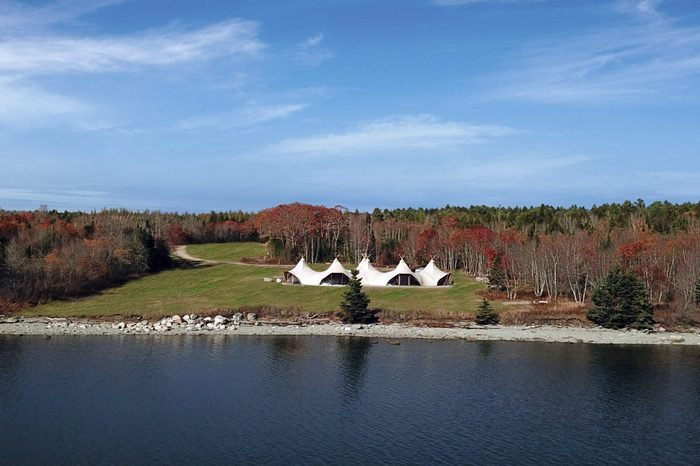 Luxury Tent At Acadia National Park In Maine