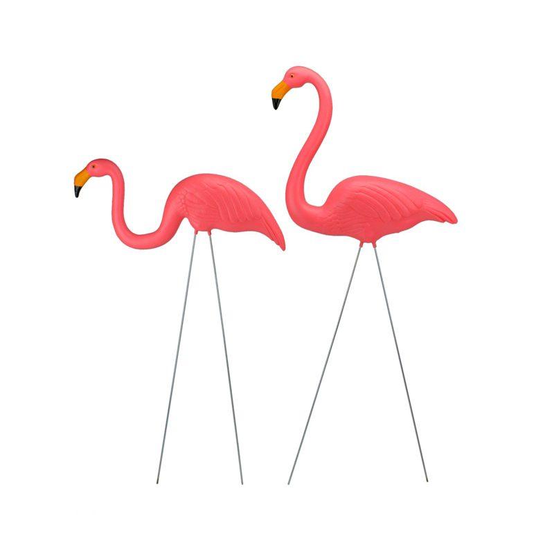 Northlight Pink Plastic Flamingos