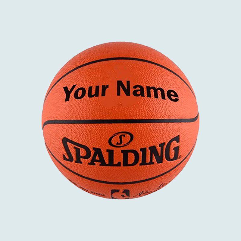 Personalized Spalding Nba Replica Basketball