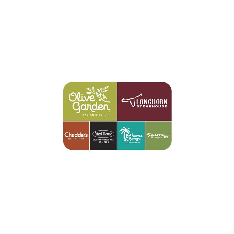 Restaurant Or Store Gift Card