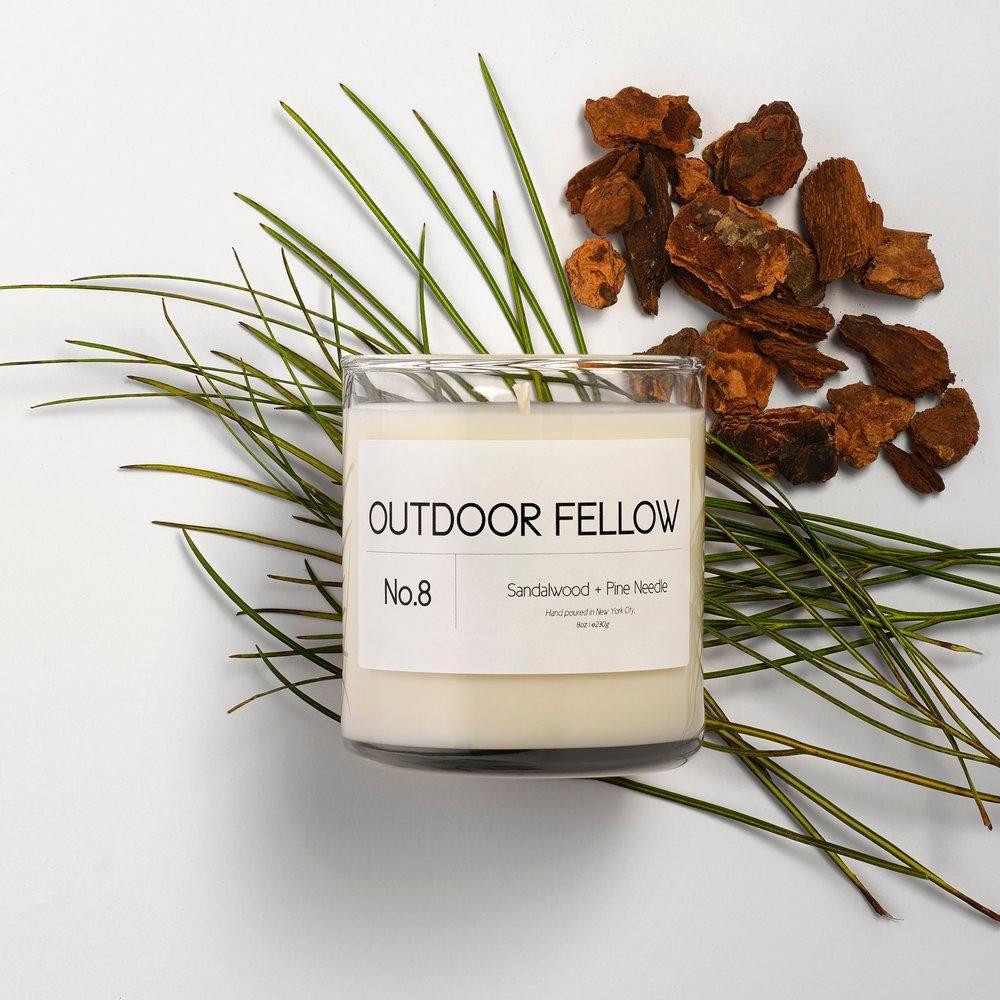 Sandalwood Pine Needle Candle