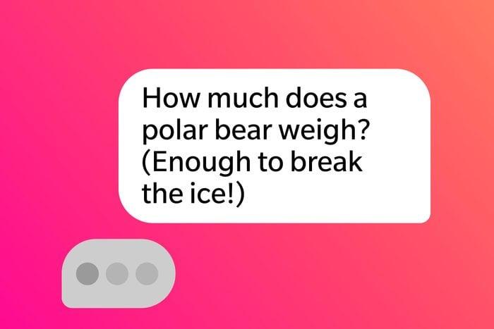 Tinder Pick Up Lines Polar Bear Break The Ice